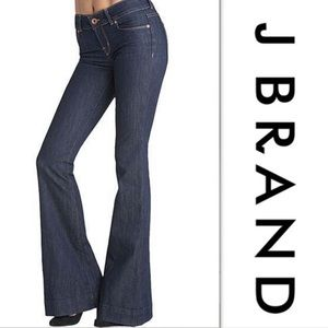 J Brand 722 Ink Bell Bottom Jeans Size 28